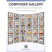 Image for Composer Gallery-24 Caricature Posters of the Masters from SamAsh
