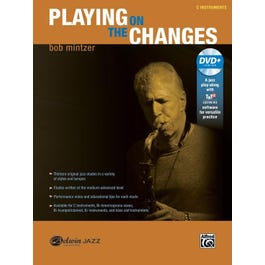 Alfred Playing on the Changes -C Instruments Book & DVD