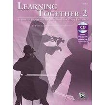 Alfred Learning Together 2-Viola-Book & CD