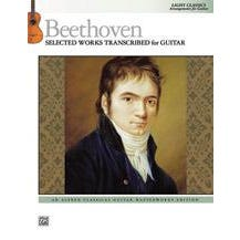 Image for Beethoven: Selected Works Transcribed for Guitar from SamAsh