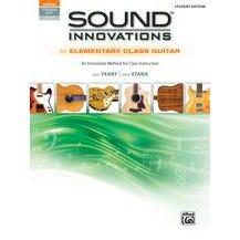 Alfred Sound Innovations for Elementary Class Guitar-Book & Online Audio & Video