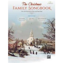 Alfred The Christmas Family Songbook -Piano/Vocal/Guitar Book & DVD-ROM