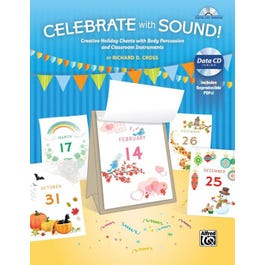 Alfred Celebrate with Sound! -Book & Data CD