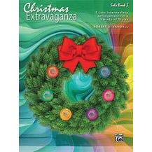 Alfred Christmas Extravaganza, Book 3-Late Intermediate-Piano Extravaganza