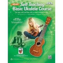 Image for Alfred's Self-Teaching Basic Ukulele Course-Book
