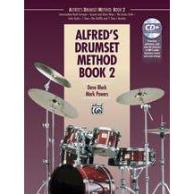 Hal Leonard Alfred's Drumset Method, Book 2 -Book & CD