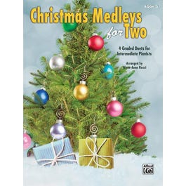 Alfred Christmas Medleys for Two, Book 3 -Piano Duet (1 Piano, 4 Hands)