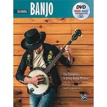 Alfred The Complete 5-String Banjo Method: Beginning Banjo -Book, DVD & Online Audio & Video