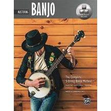 Alfred The Complete 5-String Banjo Method: Mastering Banjo-Book & Online Audio & Video