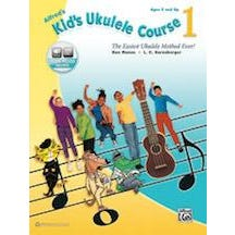 Alfred Alfred's Kid's Ukulele Course 1 -Book & Online Audio
