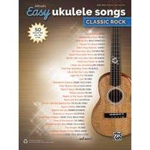 Alfred Alfred's Easy Ukulele Songs: Classic Rock-Easy Hits Ukulele TAB