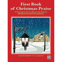 Alfred First Book of Christmas Praise -Piano