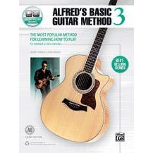 Image for Alfred's Basic Guitar Method 3 (Third Edition) Book & Online Audio from SamAsh