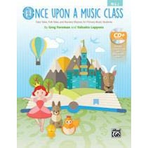 Alfred Once Upon a Music Class-Book & Enhanced CD