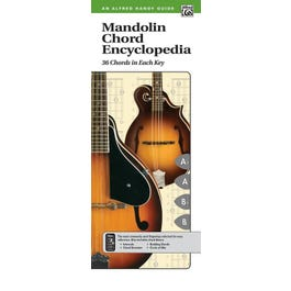 Alfred Mandolin Chord Encyclopedia (2nd Edition)-  Comb Bound Handy Guide