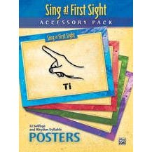 Alfred Sing at First Sight Accessory Pack -32-Poster Set