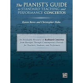 Alfred The Pianist's Guide to Standard Teaching and Performance Concertos