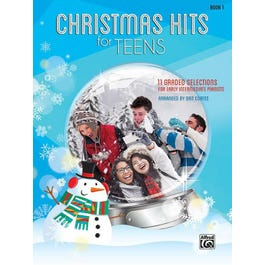 Alfred Christmas Hits for Teens, Book 1-Piano Book