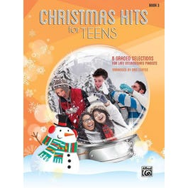 Alfred Christmas Hits for Teens, Book 3 -Piano Book