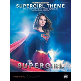 Alfred Neely -Supergirl Theme -Piano Solo
