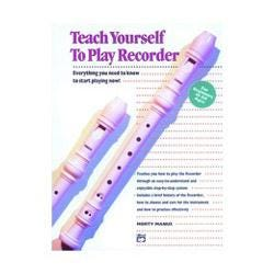 Image for Teach Yourself to Play Recorder Book and CD from SamAsh