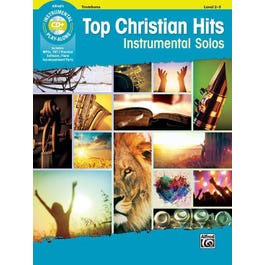 Alfred Top Christian Hits Instrumental Solos -Trombone Book & CD