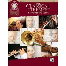 Alfred Easy Classical Themes Instrumental Solos -Trombone Book & CD