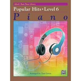 Alfred Alfred's Basic Piano Library: Popular Hits Level 6
