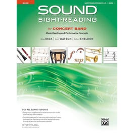 Alfred Sound Sight-Reading for Concert Band, Book 1-Baritone B.C. Book
