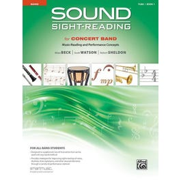 Alfred Sound Sight-Reading for Concert Band, Book 1-Tuba Book