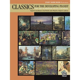 Alfred Classics for the Developing Pianist, Study Guide Book 4
