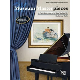 Alfred Museum Masterpieces, Book A -Piano Book