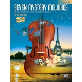 Alfred Seven Mystery Melodies-Viola Book-Grade: 1-2