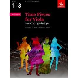 CF Peters Time Pieces for Viola, Volume 1
