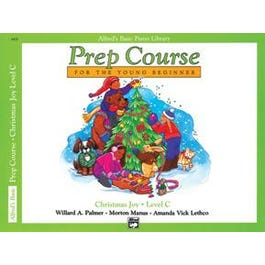 Alfred Alfred's Basic Piano Prep Course: Christmas Joy! Book C