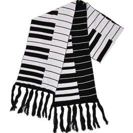 """Aim Music Fine Knit Keyboard Scarf, 66"""" X 9"""""""
