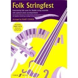 Image for Folk Stringfest (Score & ECD) for String Ensemble from SamAsh