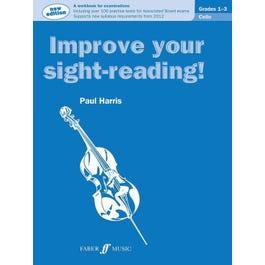 Alfred Improve Your Sight-Reading! Cello, Grade 1-3