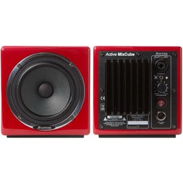 Image for MixCube Active 10th Anniversary Red Full-Range Mini Reference Monitors (Pair) from SamAsh