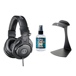 Image for ATH-M30X Professional Monitor Headphones with Stand and Cleaner from SamAsh