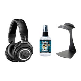 Image for M50xBT Bluetooth Headphones with Stand and Cleaner from SamAsh