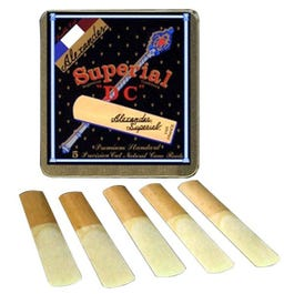 """Image for Superial """"DC"""" Soprano Saxophone Reeds Box of 5 (Assorted Strenghts) from SamAsh"""