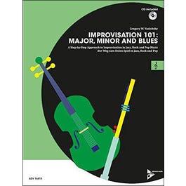 Jamey Improvisation 101: Major, Minor, and Blues - C Instruments