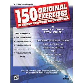 Alfred 150 Original Exercises in Unison for Band or Orchestra -Bass Clef Instruments