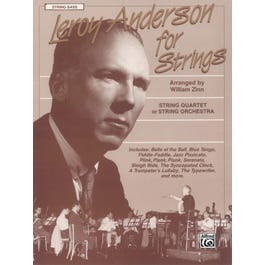 Alfred Leroy Anderson for Strings -String Bass Book
