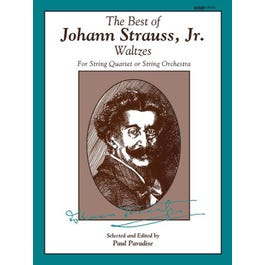 Alfred The Best of Johann Strauss, Jr. Waltzes -For String Quartet or String Orchestra