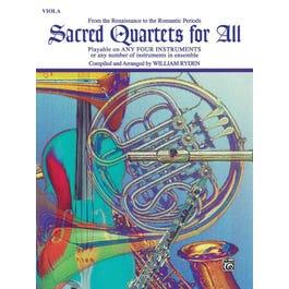 Sacred Quartets for All-Viola Book