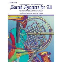 Alfred Sacred Quartets for All -Cello/Bass Book