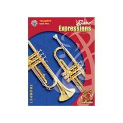Image for Band Expressions Book Two Student Edition for Trumpet (Book and CD) from SamAsh