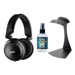 Image for K182 Professional Closed-Back Monitor Headphones with Stand and Cleaner from SamAsh